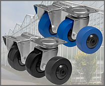 Quality wheels and Castors from Colson Europe B.V.